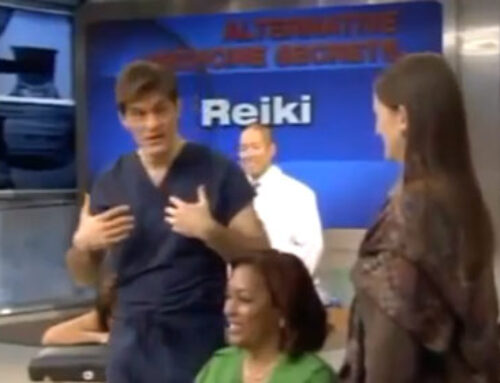 Dr. Oz and the Healing Benefits of Reiki